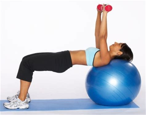 stability ball bench press weight loss trainer greg