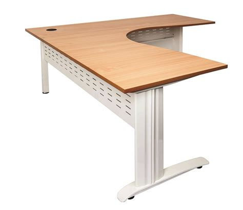 Corner Desk Workstation Rapid Beech Corner Office Desk Workstation Office Stock
