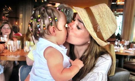tamara ecclestone shares family snaps of baby daughter tamara ecclestone shares family holiday pictures with baby