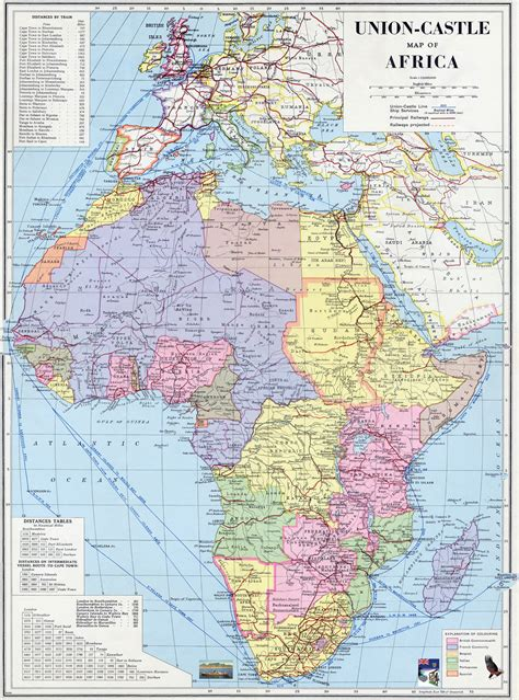 africa map 1960 africa and the empire maps
