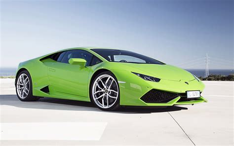 lamborghini huracan wallpaper 2014 lamborghini huracan lp610 4 green wallpaper hd car