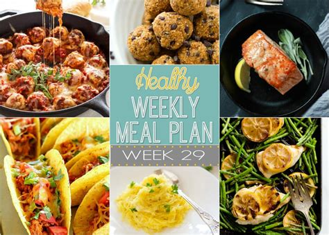dinner ideas for 4 healthy meal plan week 29 easy healthy recipes using