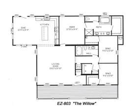 Triple Wide Trailer Floor Plans by Triple Wide Floorplans Mccants Mobile Homes