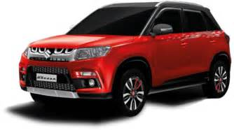 Maruti Suzuki Cars And Prices Maruti Suzuki Vitara Brezza Ex Showroom Price Price List