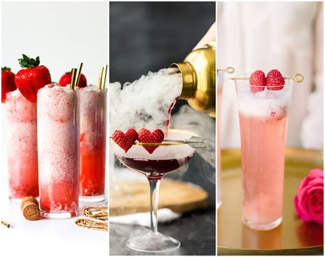 valentines day drink recipes 20 delicious s day cocktail recipes with lots of