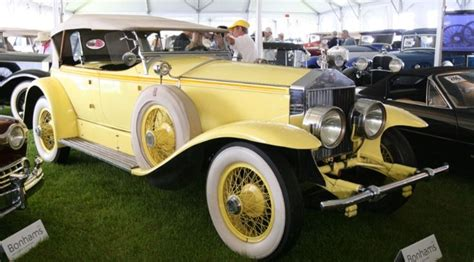 yellow rolls royce great gatsby auto ici les cultes a collection of cars and