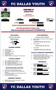 college recruiting profile template other template category page 1197 sawyoo