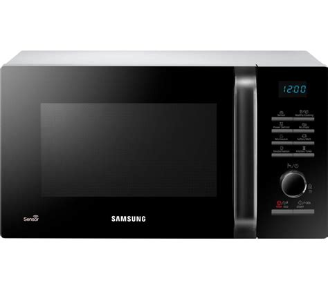buy samsung ms23h3125aw microwave black white free delivery currys