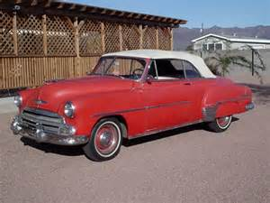 1951 Chevrolet For Sale 1951 Chevrolet Styline Deluxe Convertible For Sale By Owner