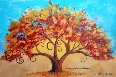 paint nite tree paint joyful arts studio