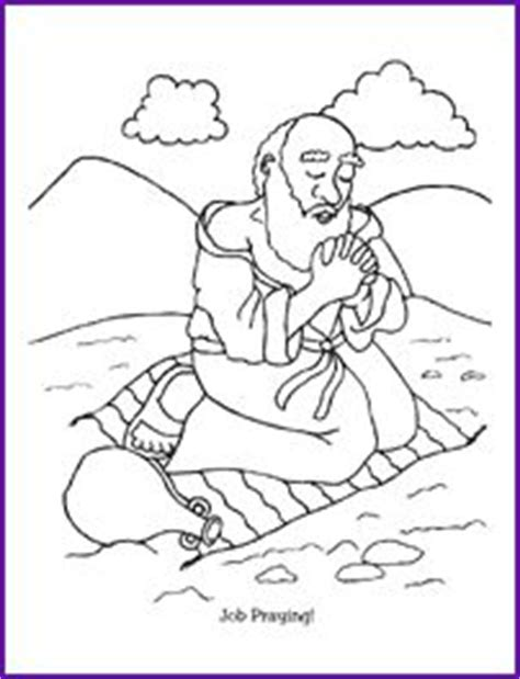 bible job on pinterest coloring pages bible stories