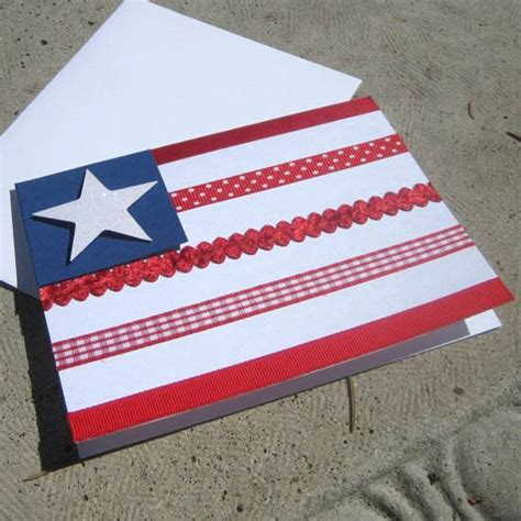 Handmade Independence Day Cards - 4th july independence day greeting cards family