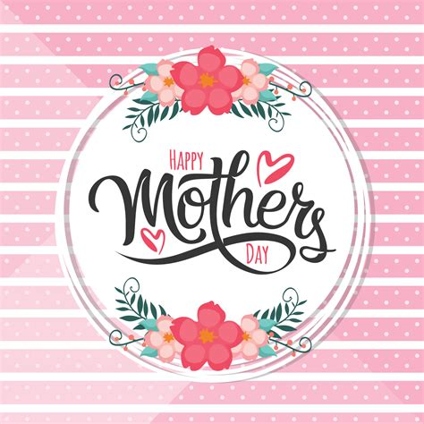 mothers day clipart happy mothers day card free vector stock