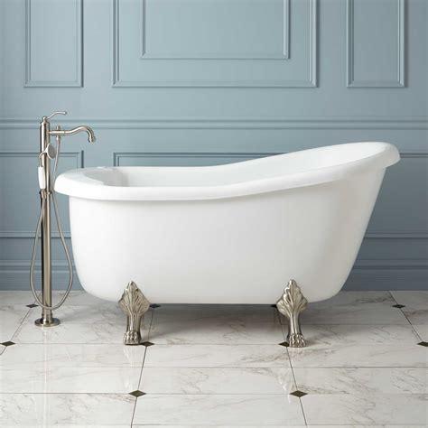 claw foot bathtubs ultra acrylic slipper clawfoot tub bathroom