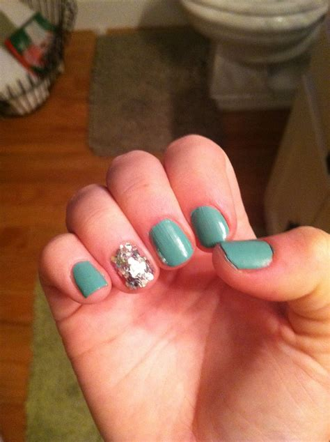 one finger nail different color pictures nail polish sparkle and shine