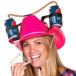 Gift Wrap Holders - stupid com pink cowgirl drinking hat
