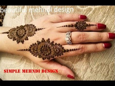 tutorial henna designs very easy and easy simple best mehndi design tutorial henna