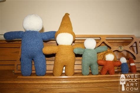 wee folk knit doll basic knit doll in 6 sizes wee folk