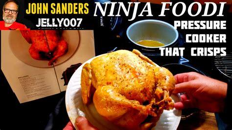 ninja foodi  chicken electric pressure cooker air