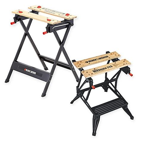 black and decker work bench black decker workmate 174 portable work bench bed bath