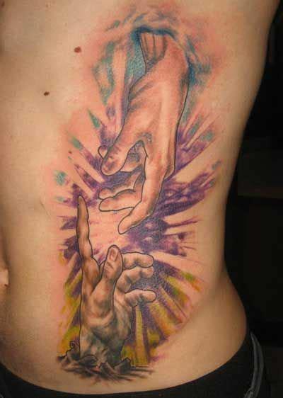 Tatuagens de Deus: Grego, Indiano, Cristão, no Braço