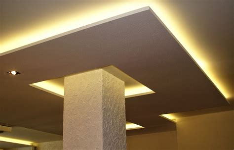 15 False Ceiling Designs With Ceiling Lighting For Small Rooms Ceiling Light Designs