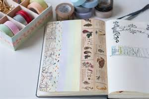 Decorating Ideas For Journals 6 Uses For Washi In Your Bullet Journal Stationery