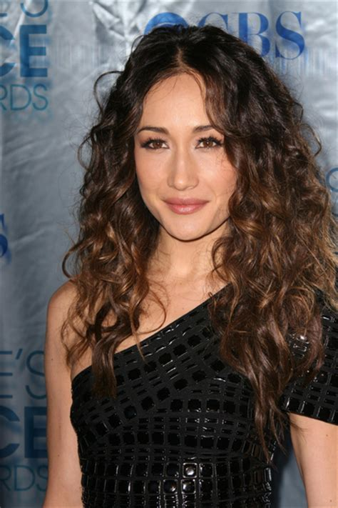 The Scoop On Maggie Qs Carpet Hair by Maggie Q Hair Pictures S Choice Awards 2011