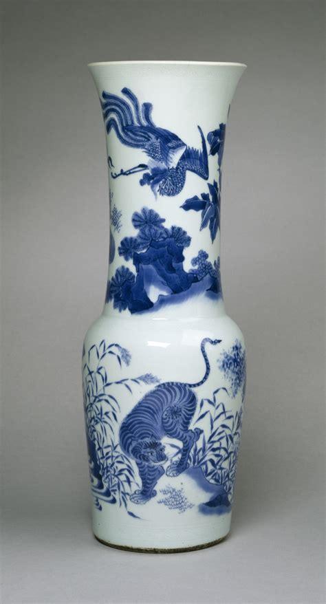 China Vase by File Beaker Shaped Vase With Four Animals