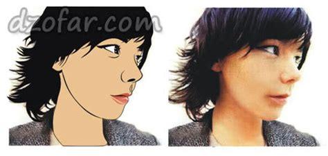 tutorial edit photoshop kartun cara mudah edit wajah menjadi kartun sang vectoria jenaka