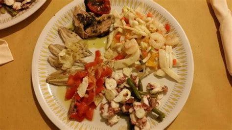 come cucinare il coccio pesce antipasto freddo di pesce foto di il coccio misano