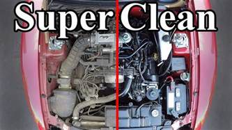 easiest car color to keep clean how to clean your engine bay
