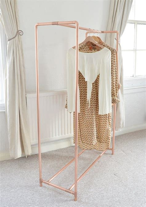 diy clothing storage best 25 pipe clothes rack ideas on diy