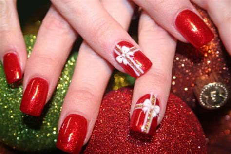 2018 christmas nails theme u 241 as de navidad im 225 genes con los mejores dise 241 os u 241 asdecoradas club