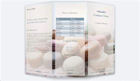 20 bakery brochure templates psd vector eps jpg