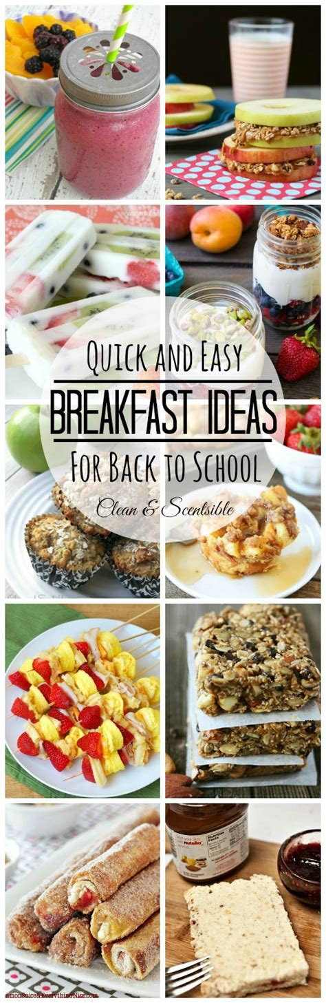 easy breakfast ideas and 200 visa giveaway clean and