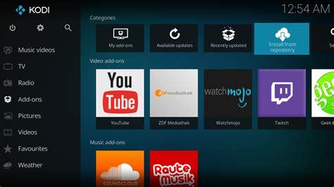 http kodi tv download add ons kodi open source home theater software
