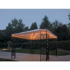 gazebo light outdoor gazebo lighting string lighting is fast and easy