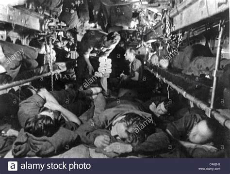 u boat officers quarters sleeping crew in a submerged german u boat in the second