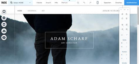 der wix homepage baukasten web developer blog