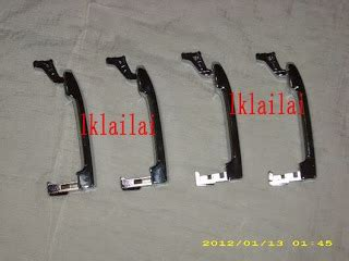 diy ganti door handle chrome grand livina bukan chrome tempelan 515635