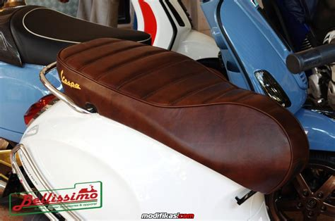Cover Motor Vespa Sprint baru cover jok kulit modern vespa lx s gt