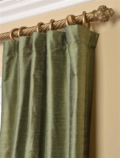 Green Silk Curtains 17 Best Ideas About Silk Curtains On Pinterest Drapery Ideas Curtains And Drapery Panels