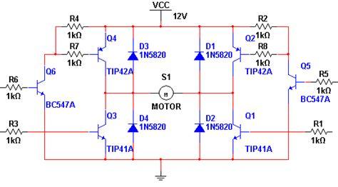 transistor h bridge h bridge transistor bipolar bjt transistor electrical engineering stack exchange
