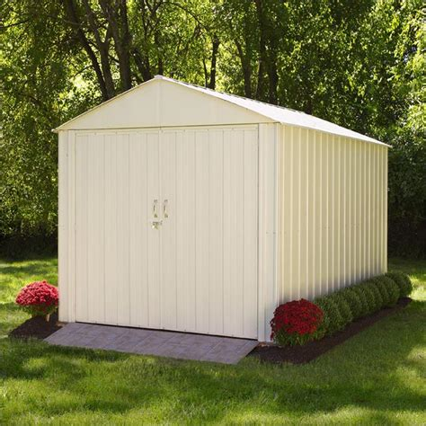 Shelterlogic Shed And Storage Series Shed In A Box by Shelterlogic Arrow Commander Series Storage Building 10 X 10