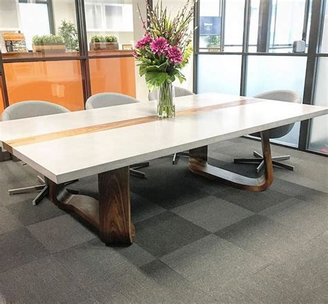 polished concrete table top 60 best polished concrete tables images on
