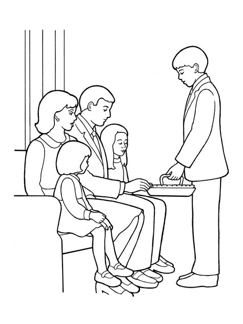 coloring pages lds sacrament our deseret homeschool gospel basics 38 week lesson plan
