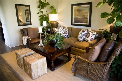 cozy brown leather sofa for yellow living room design 46 swanky living room design ideas make it beautiful