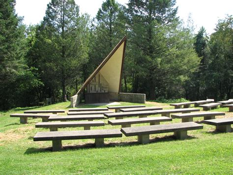 Small Camp Chair Outdoor Amphitheater Scott County Iowa