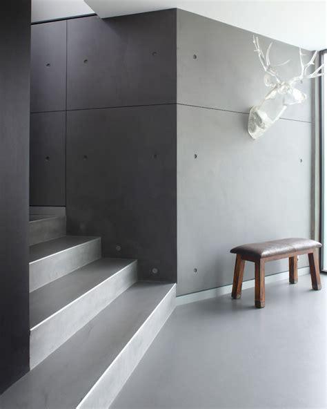 PanDOMO topping walls and floors in Sydney   Burnett Residence